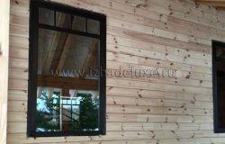 Окно деревянное, сосна.