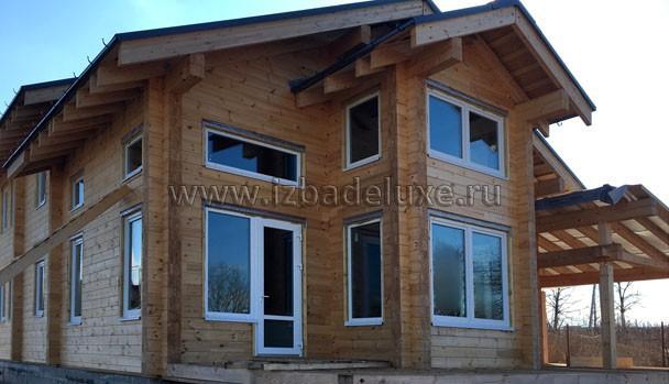 Строительство дома из клееного бруса «Романтика»