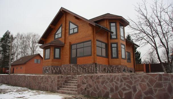 Московская область, д. Пашуково, дом из кедра.