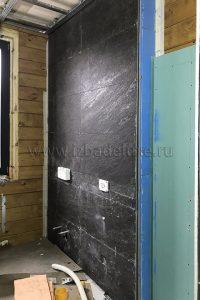 Продолжается черновая отделка на объекте «Лесной Ручей».