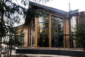 Внешняя и внутренняя отделка дома «Лесной Ручей».