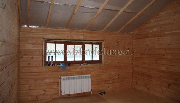 Дом из сосны, сечение 200 мм.