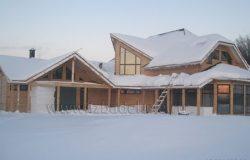 Проект дома из клееного бруса «Калиста»