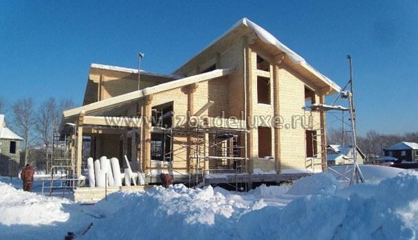 Проект дома из клееного бруса «Сахалин»