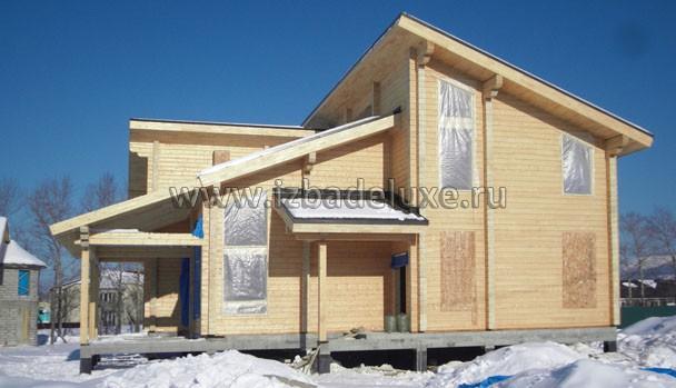Посмотрите насколько точно соответсвует проекту дом.