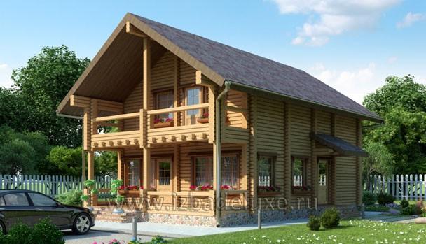 Проект дома из клееного бруса «Серинга»