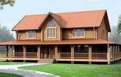 Деревянный дом из клееного бруса «Аспен Грув»