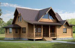 Проект деревянного дома «Бэй Ридж»