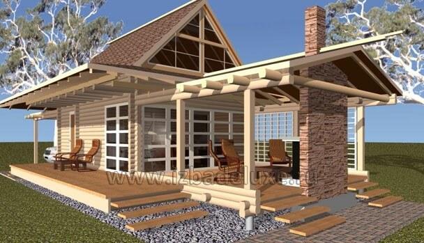 Проект дома «Бунгало – 2»