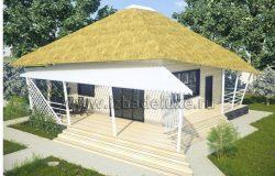 Проект дома-бани «Фантазия»