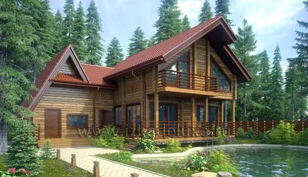 Проект коттеджа «Марьина гора»