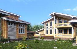 Проект усадьбы в Федоскино