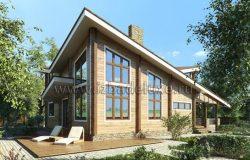 Современный проект дома Олисия