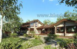 Проект дома-бани «Васильки»