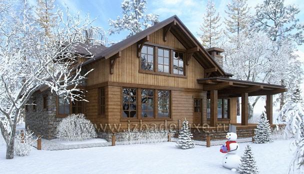 Проект дома «Аляска»