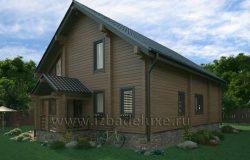 Проект дома «Дом у озера»