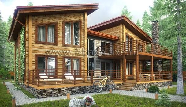 Проект дома «Графское поместье»