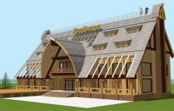 Тверская область, гостиница, проект архитектора А.Головиной