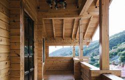 Балконы с чудным видом...