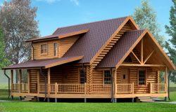 Дом «Секвойя» из клееного бруса