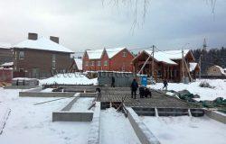 Панорама. Здесь будет красивый деревянный дом! :)