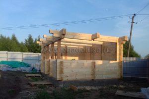 Сборка малых архитектурных форм на объекте «Соколовское».