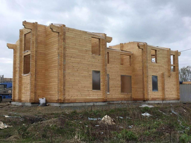 Строительство дома по проекту «Джулия Сахалин»