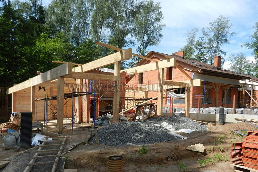 Строительство крытой зоны отдыха «Променад»