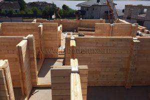 Строительство дома из клееного бруса в Белоруссии
