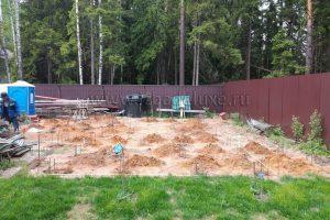 строительство бани из клееного бревна в Ногинском районе