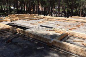 В Кабардино-Балкарской Республике началось строительство дома из клееного бруса