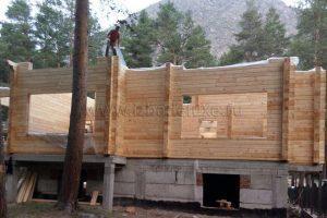 Сборка домокомплекта на объекте Эльбрус