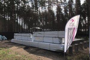 поставка клееного бруса в Ленинградскую область