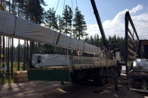 поставка домокомплекта из клееного бруса в Ленинградскую область