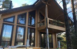 Балконы и террасы - идет укладка чистовых покрытий.