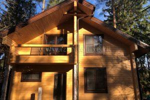 Обновлены фотографии дома по проекту «Зимняя сказка-16».