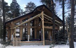 Красивые фасады у Зимней сказки.