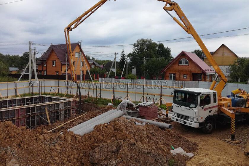Строительство усадьбы из клееного бруса на объекте «Яковлевское».