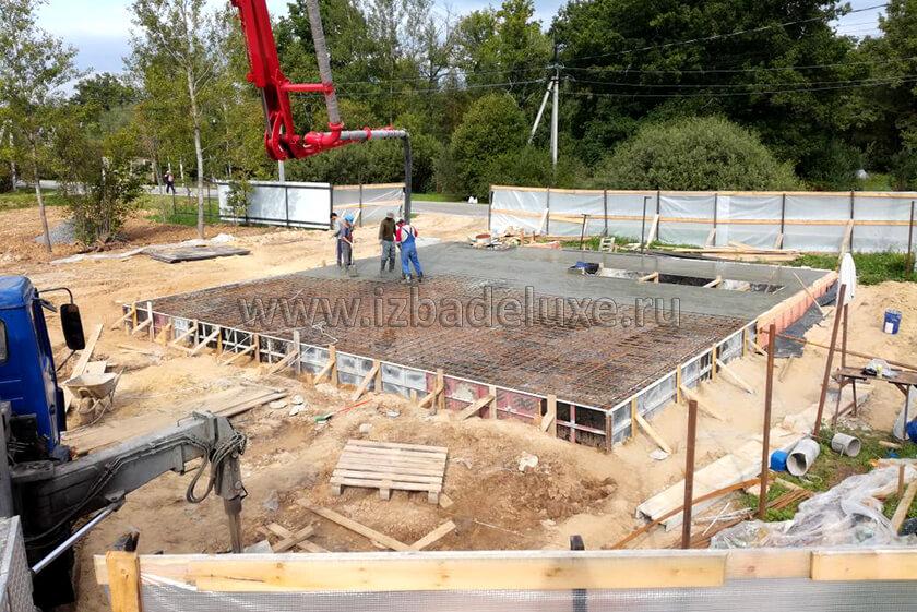 Строительство усадьбы из клееного бруса на объекте «Яковлевское»