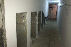 Продолжается черновая отделка в доме по проекту «Заокские просторы».