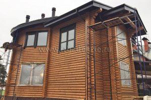 Обновлены фотографии дома по проекту «Видная усадьба НА ДОНу».