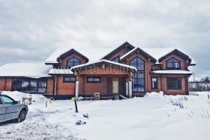 Обновлены фотографии дома по проекту «Заокские просторы».