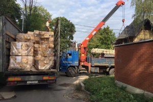 Началась поставка домокомплекта по проекту «Видная усадьба НА ДОНу».