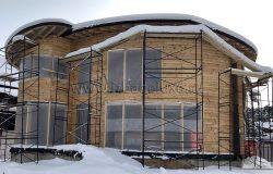 Скоро окна! Окна - деревянное евроокно. Сосна. Срок изготовления - 45 раб.дней.