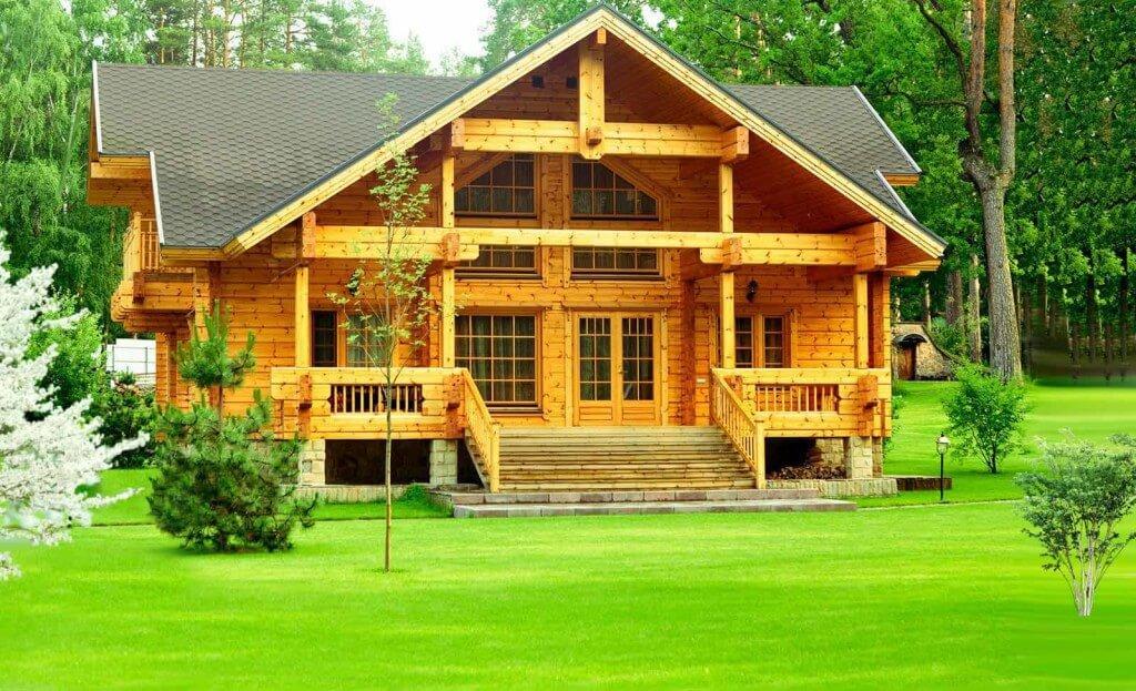 Красивые дома построенные