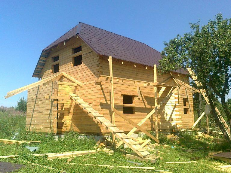 Купить готовый деревянный дом недорого