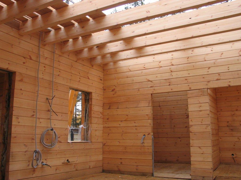 Как сделать электрику в деревянном доме цены 15