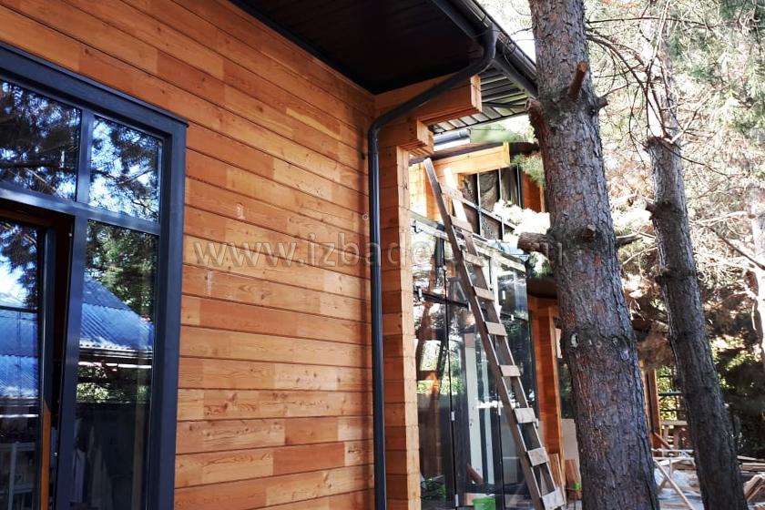Строительство дома из комбинированного клееного бруса «Абинск».