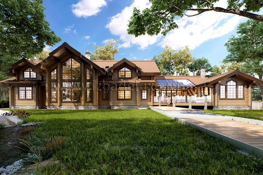 Проект дома «Заокские просторы»