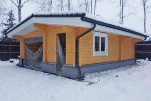Обновлены фотографии дома по проекту «Усадьба Комарики».